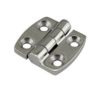 Image 1 - Stainless Steel Marine Hardware Door Butt Hinge Silver Cabinet Drawer Box Hinge Boat Accessories Marine