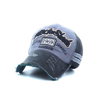 Summer Letter Embroidery Baseball Cap Outdoor Sports Shade Duck Tongue Hole Hat C1089