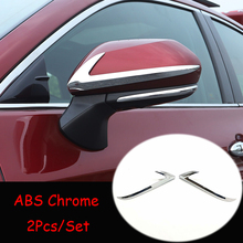 For Toyota Avalon 2019 ABS Matte/Carbon fibre Car Rearview mirror decoration strip Cover Trim Sticker car styling accessories window deflector for mitsubisi pajero 2 1990 2004 rain deflector dirt protection car styling decoration accessories molding