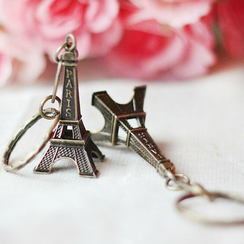 Torre Eiffel Tower Keychain For Keys Souvenirs, Paris Tour Eiffel Keychain Key Chain Key Ring Decoration Key Holder ювелирное украшение из шифона eiffel tower с бриллиантами от 18s rose golds