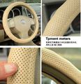 winter autum car  Steering wheel cover ix35 ix25 k2 a4 a6 b200 320i leather four seasons general steering wheel cover