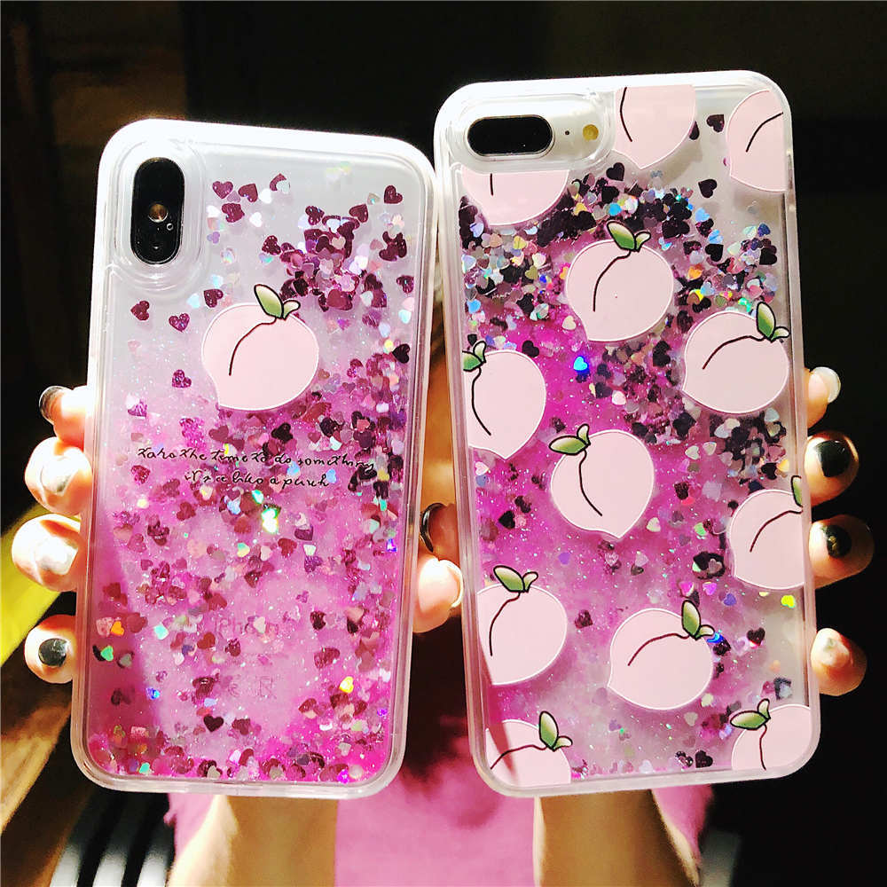 Phone Bags & Cases Fitted Cases Discreet Luxury Glitter Liquid Sand Quicksand For Coque Motorola Moto G6 Cover Soft Silicone Case For Moto G6 Cartooon Protect Shell Etui