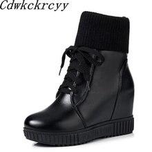 Женские ботинки; сезон осень зима; новый стиль; короткие ботинки