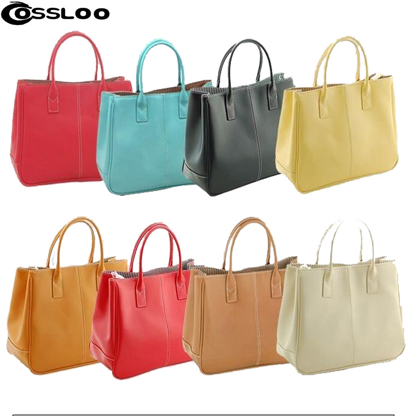 COSSLOO Promotion  Hot Sale Fashion Women Bags  Lady PU  Leather Shoulder Bag handbags luxury handbags women bags designer