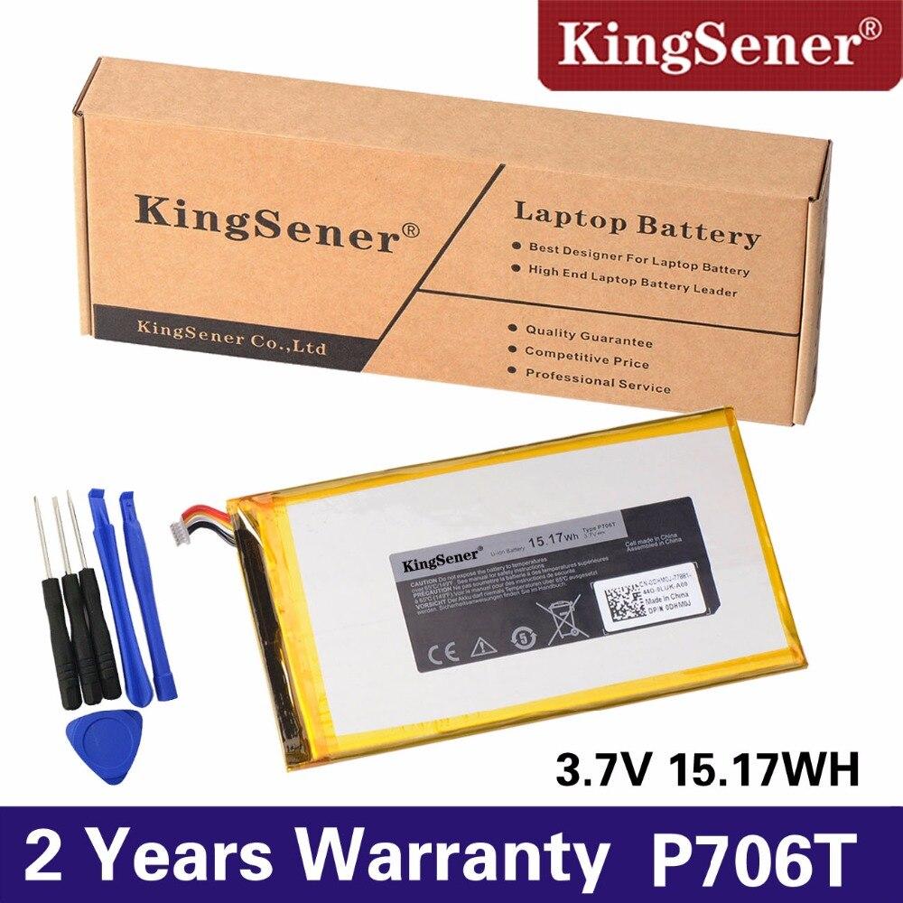 KingSener New P706T Tablet battery for DELL Venue 7 3730 Venue 8 3830 T01C T02D001 T02D002 0CJP38 02PDJW 3.7V 15.17WH