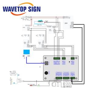 Image 4 - Wavetopsignature رويدا RDC5121 لايت الإصدار Co2 ليزر DSP تحكم عن Co2 النقش بالليزر وماكينة قطع