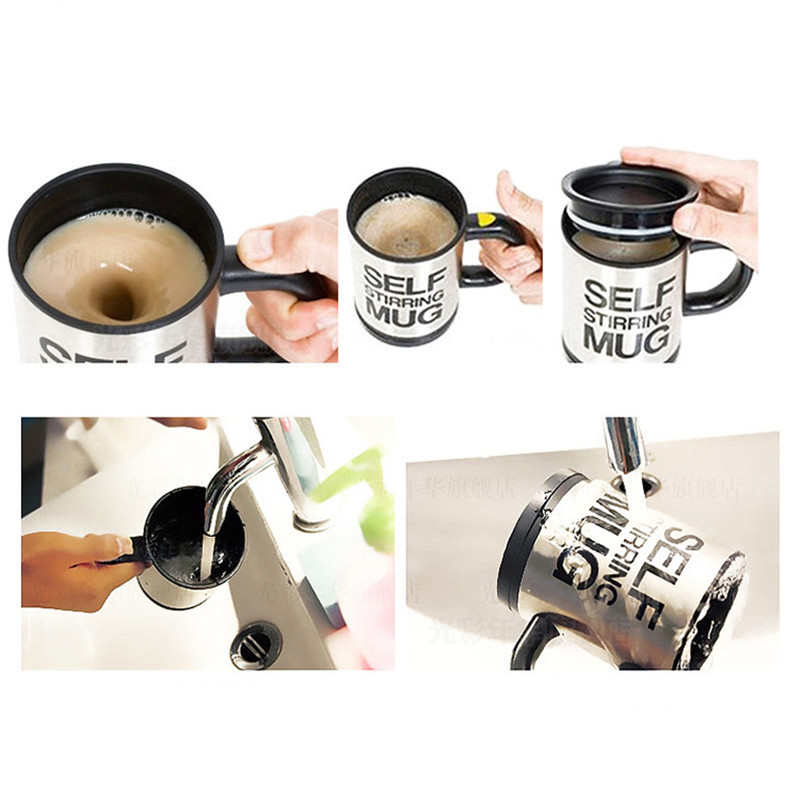 HTB15lAOX.zrK1RjSspmq6AOdFXaB 400ml Mugs Automatic Electric Lazy Self Stirring Mug Cup Coffee Milk Mixing Mug Smart Stainless Steel Juice Mix Cup Drinkware