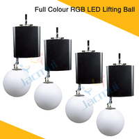 (4Pcs/Lot) Full Colour RGB LED Lifting Ball DMX512 Control LED Colorfull Effective Stage Ball Night Club Disco Event DJ Show