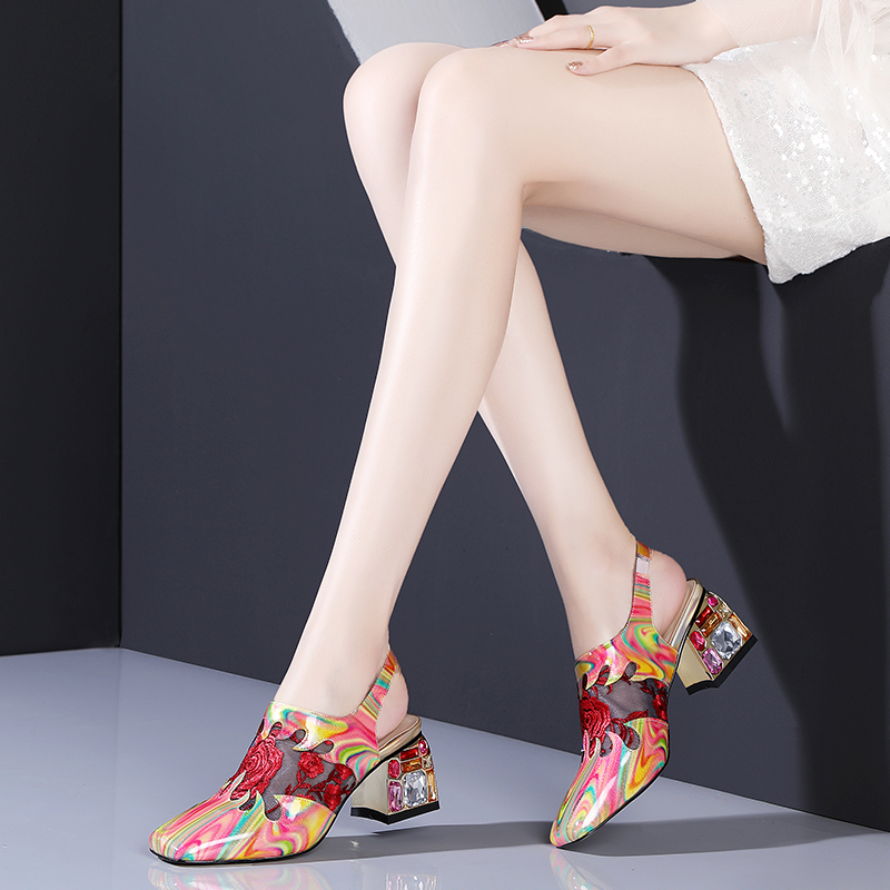 2019 Sexy Women High Heels Pumps Fashion Prints Party Wedding Shoes Woman Comfort Quality PU Leather Summer Sandals Pumps2019 Sexy Women High Heels Pumps Fashion Prints Party Wedding Shoes Woman Comfort Quality PU Leather Summer Sandals Pumps
