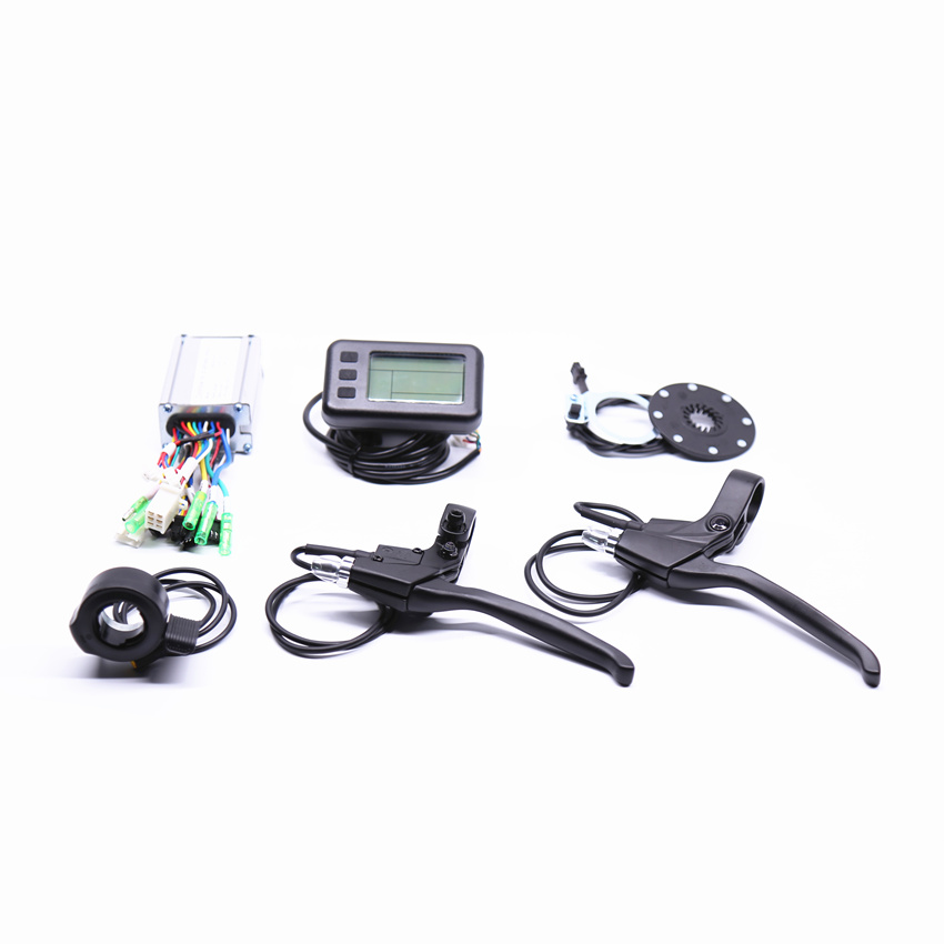 Electric bike Conversion Kit system for 36V250W hub motor kit e bike controller conversion kit electric bicycle controller system for 48v500w hub motor kit free shipping