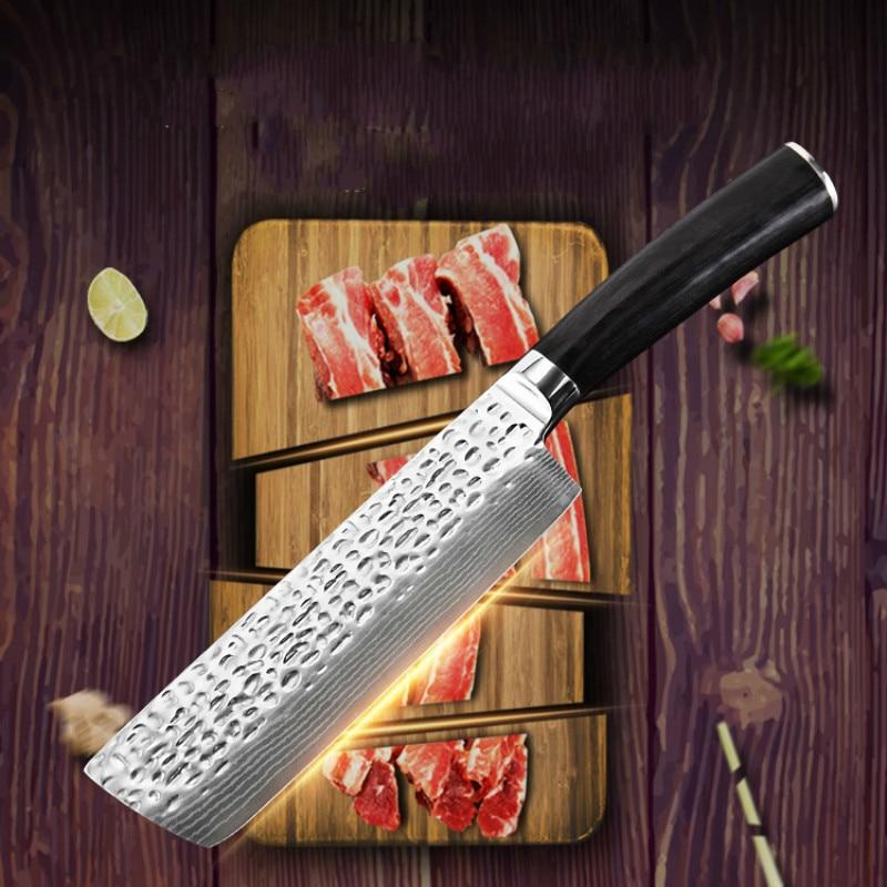 Damascus Knives 6.8 inch Chef Knife Japanese Kitchen Knife Damascus7CR18 Mo-V Stainless Steel Knives Ultra Sharp Micarta Handle