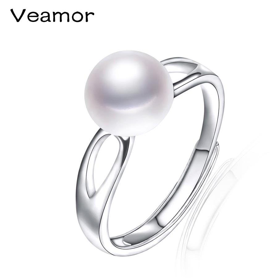veamor wedding rings for sterling silver adjustable