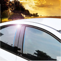 For Chevrolet Cruze sedan 2009-2015 mirror reflection panel BC column rear Triangle decorative sticker film