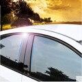 Para Chevrolet Cruze sedan 2009-2015 panel de reflexión de espejo BC columna Triángulo trasero adhesivo decorativo película