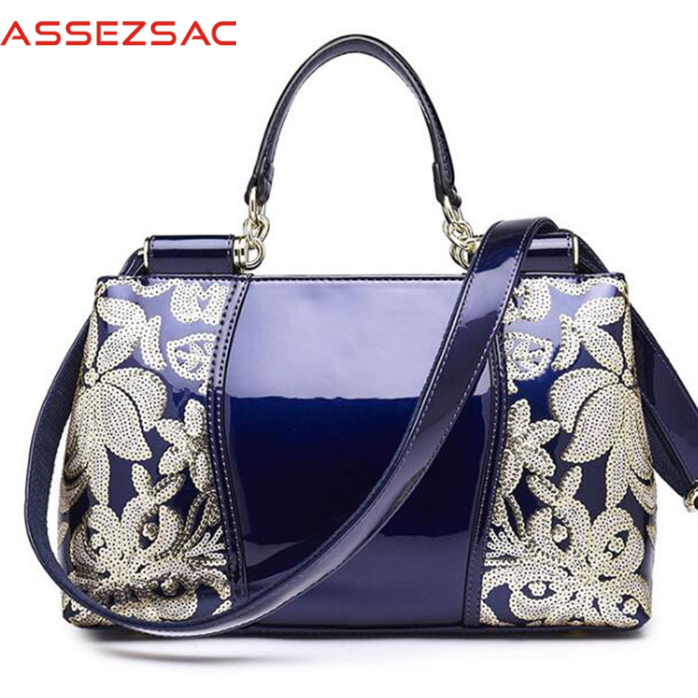 Assez sac 2018 women handbags genuine leather handbag women bags small print bag for lady's bolsas women totes clutch DH0264 assez sac women handbags pu leather bags women handbags crossbody flower printed bag single shoulder bag clutch ladies bolsas