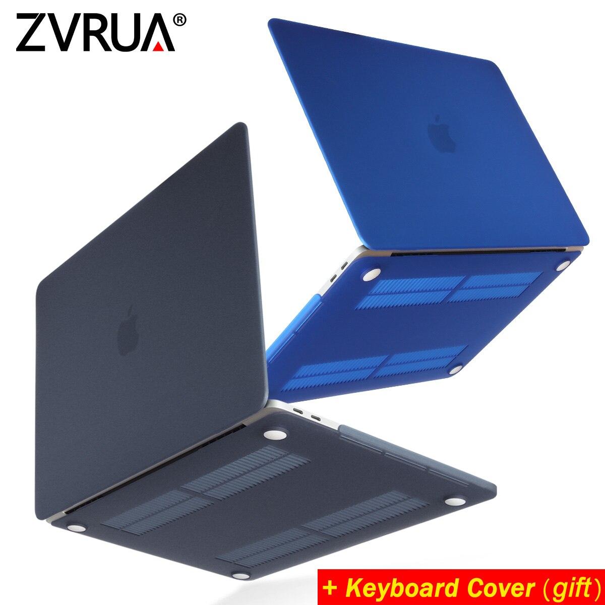 ZVRUA HEIßER Verkauf laptop Fall Für Apple macbook Air Pro Retina 11 12 13 15 Für Mac buch 13,3 zoll mit Touch Bar + Tastatur Abdeckung