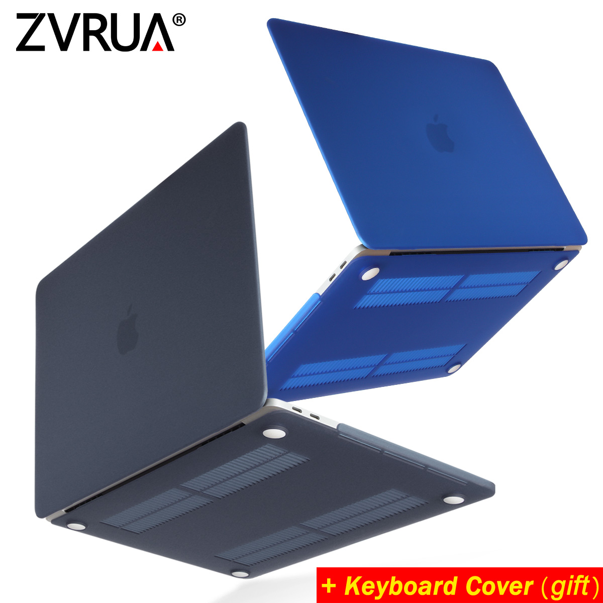 ZVRUA Venta caliente portátil caso para Apple macbook Air Pro Retina, 11 12 13 15 para Mac libro, 13,3 pulgadas con Touch Bar + teclado
