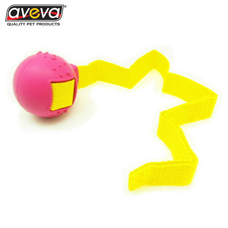 US $13 8 |Red Interdigital Region Pets Mutual Action Toys AVEVA Toss A Ball  Gogo Training Toys Pets Articles-in Dog Toys from Home & Garden on