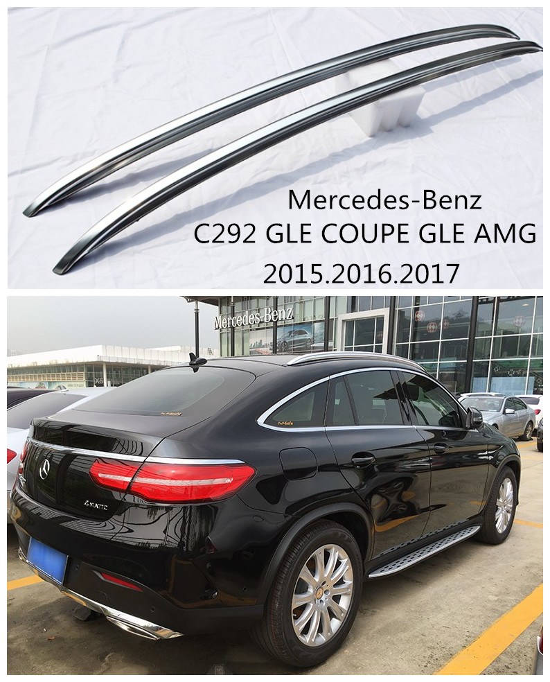 Auto roof racks luggage rack for mercedes benz c292 gle for Mercedes benz roof rails