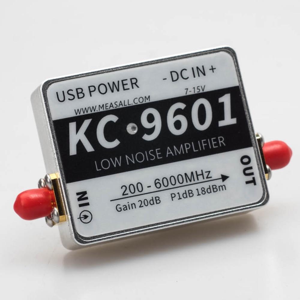 Pour 6 GHz 20dB Module amplificateur à faible bruit 5.8G amplificateur 2.4G KC9601 amplificateur à faible bruit