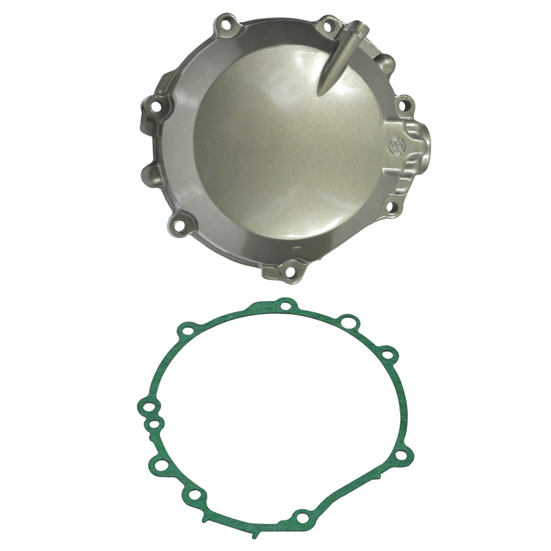 LOPOR Motorcycle Parts Engine Stator Cover Crankcase With Gasket For Kawasaki ZX12R 2002 - 2006 2003 2004 2005 ZX-12R ZX 12R NEW jiangdong engine parts for tractor the set of fuel pump repair kit for engine jd495