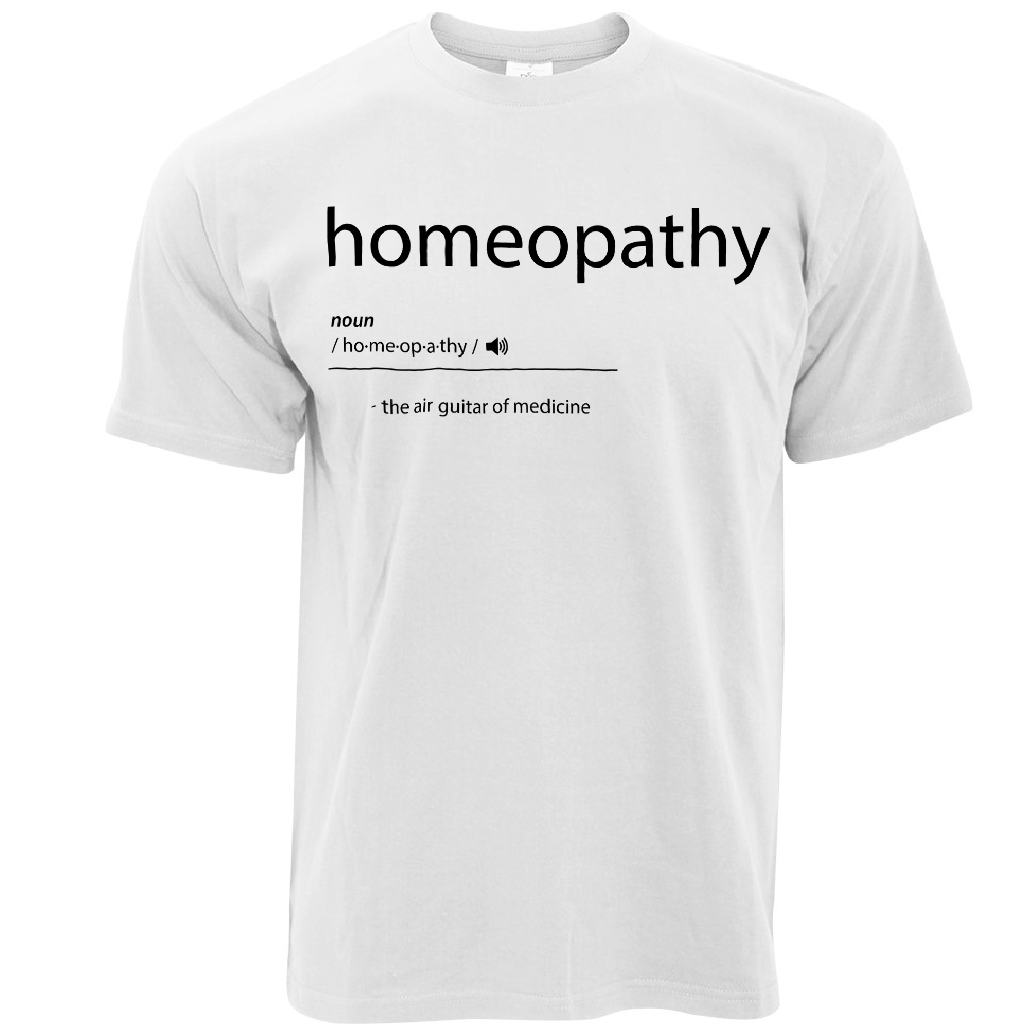 New 2017 T Shirt Crew Neck Homeopathy The Air Guitar Of Medicine ...