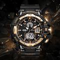 2017 Smael Luxury Brand Sport Watch Men LED Analog Digital Watch Waterproof Army Military Watches Men's Casual Quartz Wristwatch