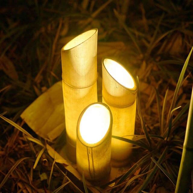 Led Imitation Bamboo Landscape Lights