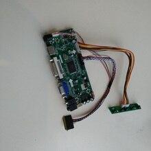 """Pour LP156WH4 (TL) (D1)/(TL) (D2) 1366X768 15.6 """"panneau écran HDMI DVI VGA LED LCD contrôleur conseil Kit bricolage"""