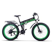 26 polegada gordura ebike macio cauda elétrica mountain bike 48v1000w motor de alta velocidade dobrar bicicleta elétrica praia neve bicicleta elétrica