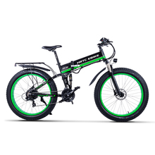 26inch fats ebike Smooth tail electrical mountain bike 48V750W excessive pace motor fold electrical bike Seaside snow electrical bicycle