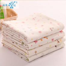 90*90cm 4 layers multi-use 100% Soft cotton Swaddling Newborn Baby Bath Towel Muslin Cotton Swaddle Blankets Baby Swaddling Wrap