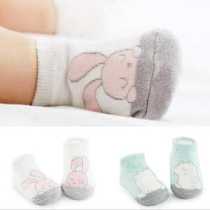 Baby Socks Non-Slip Girls Boys Cotton Cartoon New Rabbit Hot Product Breathable Popular-Style
