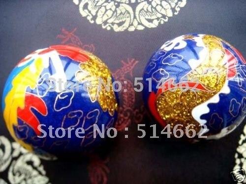 Baoding Ball Golden Dragon&Phoenix Health Exercise beautiful gift box fashion charm
