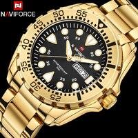 2018 New Arrival NAVIFORCE Brand Men Luxury Watch Men S Sport Watches 30M Waterproof Stainless Steel