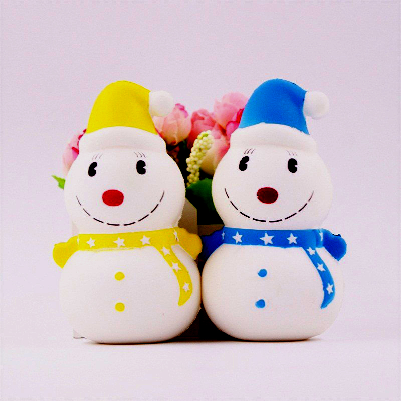 Besegad Kawaii Jumbo Cartoon Santa Claus Cake Ice Cream Charms Christmas Squishy Slow Rising Toy Strap Soft Cute Squeeze funny cute mini cartoon tpr animal jumbo squishy toy