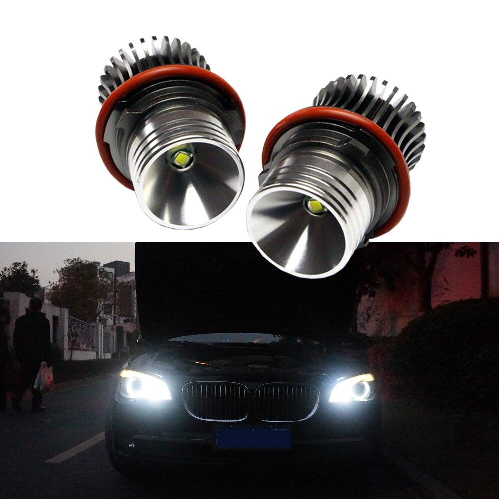 20W/set led marker halo lights for BMW 7 series E65/E66(02-08) 745i,745Li,750i,750Li,760i,760Li,B7 ALPINA angel eyes led marker защитные аксессуары car pakistan bmw alpina
