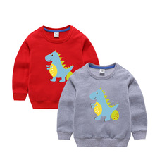Childrens clothing 2019 autumn new fashion casual childrens cotton baby cartoon jacket interesting