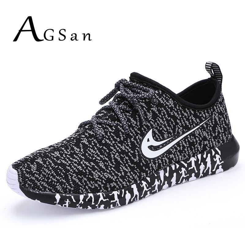 AGSan Men Casual Shoes Designer Men s Trainers Shoes Breathable Lightweight Jogging Shoe Flats Zapatos Hombre