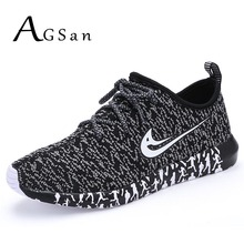 AGSan Men Casual Shoes  Designer Men's Trainers Shoes Breathable Lightweight Jogging Shoe Flats Zapatos Hombre Black Grey Blue