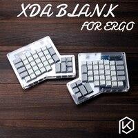 Xda ergodox ergo pbt  teclados en blanco  teclados mecánicos personalizados  Infinity ErgoDox  teclados ergonómicos