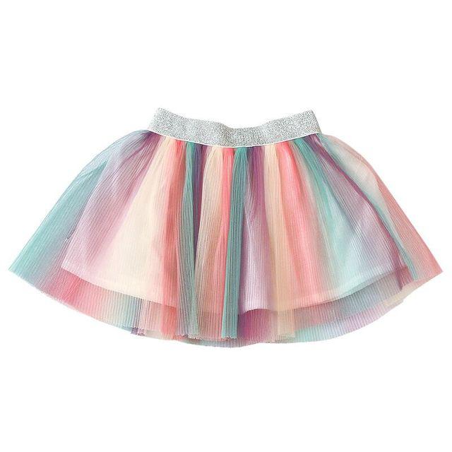d18ed9c2a Nuevas faldas de verano para niñas con patrón flores plisadas alta calidad  moda niños princesas ropa