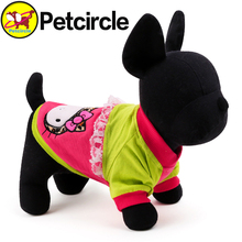 2015 Petcircle Hot Sale dog Hoodies Lace Pet Dog Clothes 2 Color New Fashion Cat Dog Clothes Clothing For chihuahua freeshipping