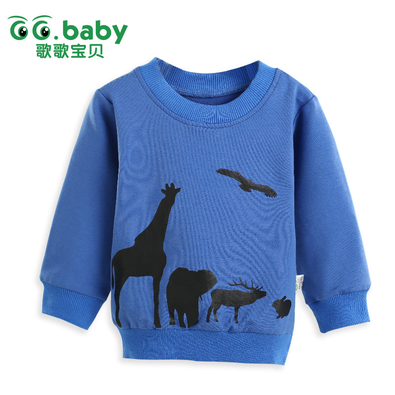 New Brand 2017 Infant Clothing Winter Newborn Baby Boys Toddler Kids Clothes Long Tees Tops Boy T Shirt For Boy Children Sweater