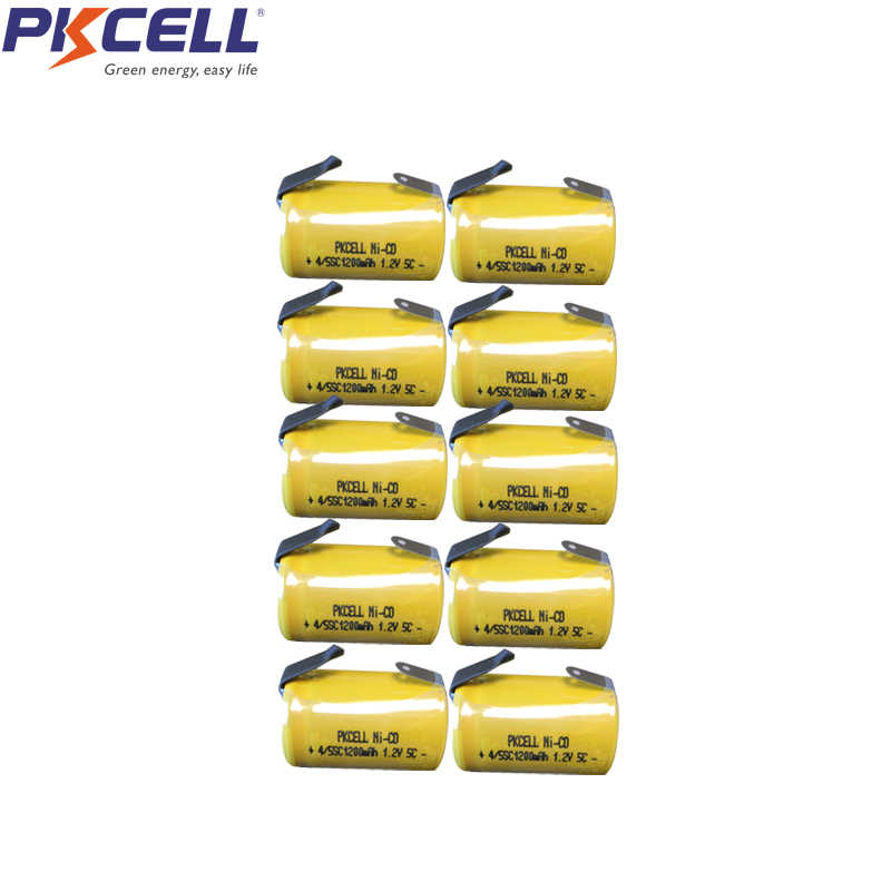 Detail Feedback Questions about 12Pcs PKCELL 1200mah Sub C