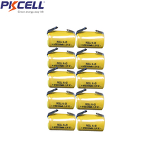 20pcs pkcell 4/5 SC battery 1200mah  Rechargeable Battery 1.2V 1200mAh power bank Ni-Cd 4/5SC accumulator все цены