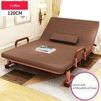 См 120 см Широкий RollAway металлическая складная кровать W/матрас мебель для спальни Rollaway гостевой queen кровать для гостей день/ночь кровать рамки