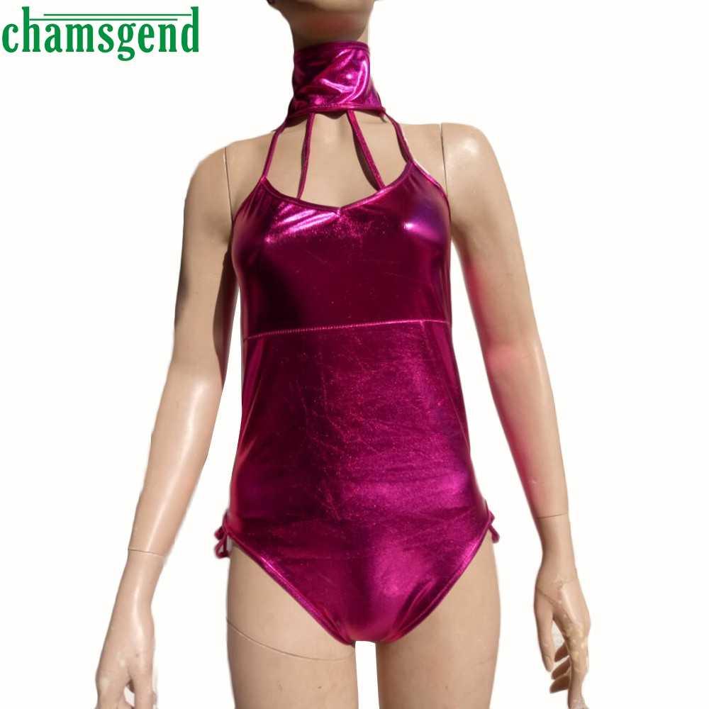 Sexy wanita biquini bikinis halter top sexy mujer kulit tali pakaian bra set sexy dress femme swimsuit pantai setelan jan18yp