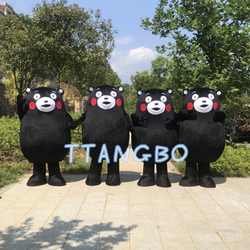 Nouvelle vente de haute qualité rilakkuma Kumamon ours mascotte costume anime cosplay panda noël Halloween fursuit mascotte costumes