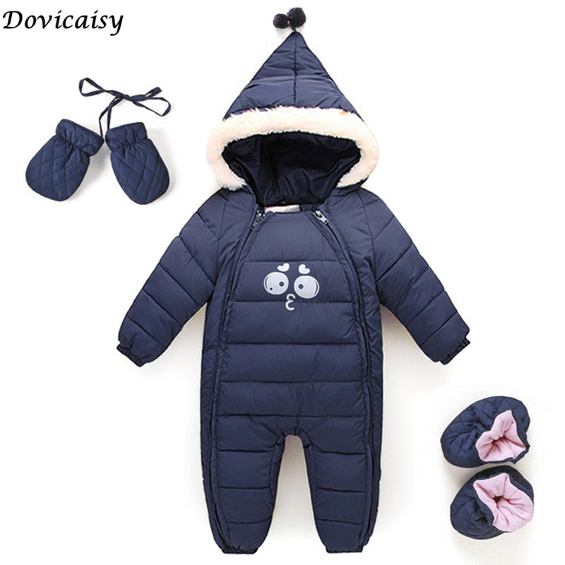 New Thick Christmas Baby Boy Clothes Newborn Baby Warm